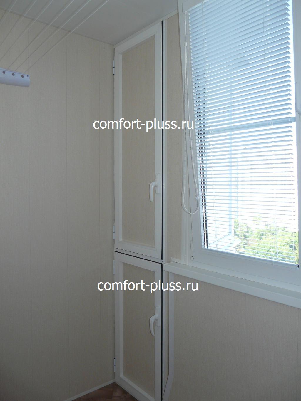 двухстворчатый шкаф в выступе лоджии п-44 стоимость