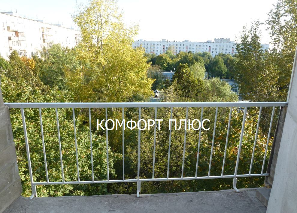ремонт балконного ограждения парапета на лоджии покраска
