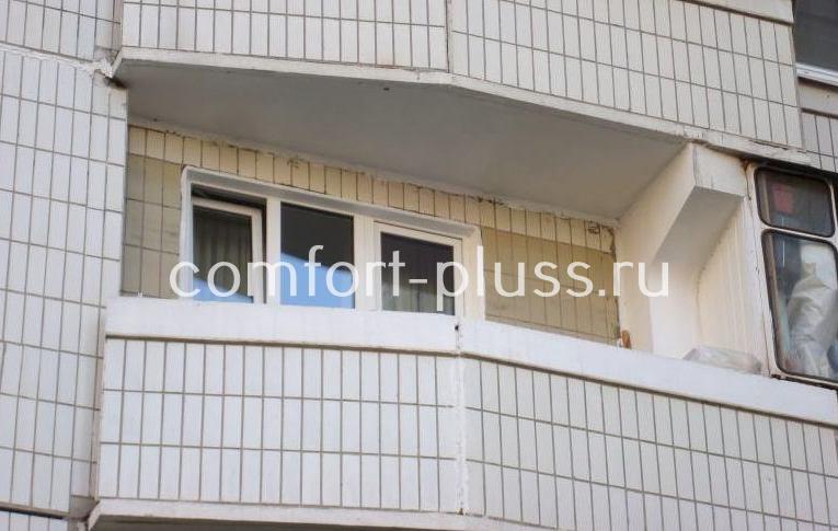Балкон П-44 лодочка без остекления