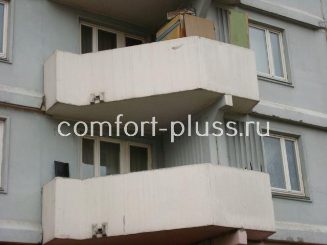 Балкон ПД-4 6 метров без остекления