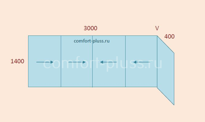 Стоимость остекления лоджии 3 метра II-49