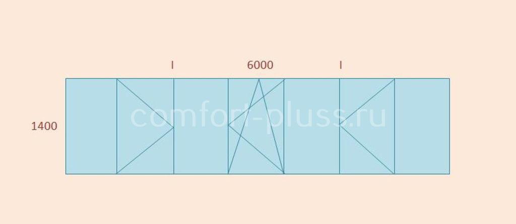 Стоимость тёплого остекления лоджии 6 метров