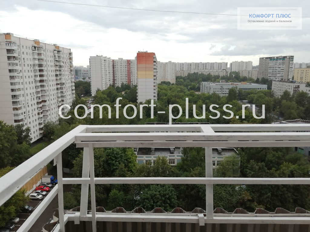 Балкон П-3, сварной вынос, балкон Г-образный.