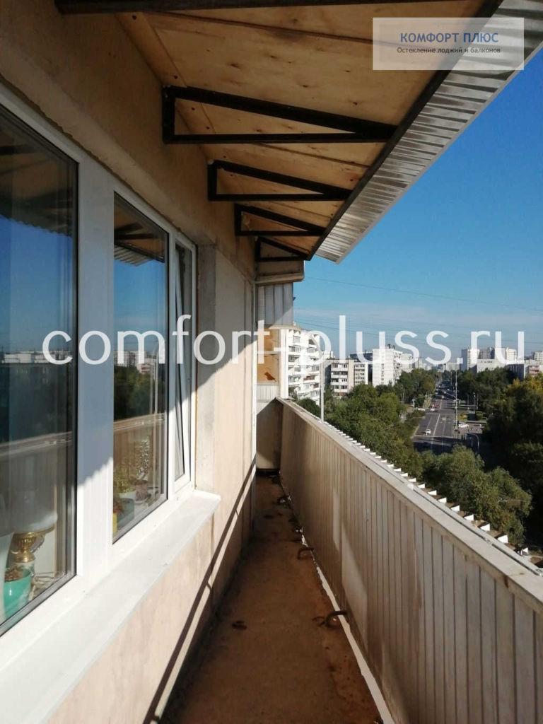 Независимая крыша на балкон 6 метров