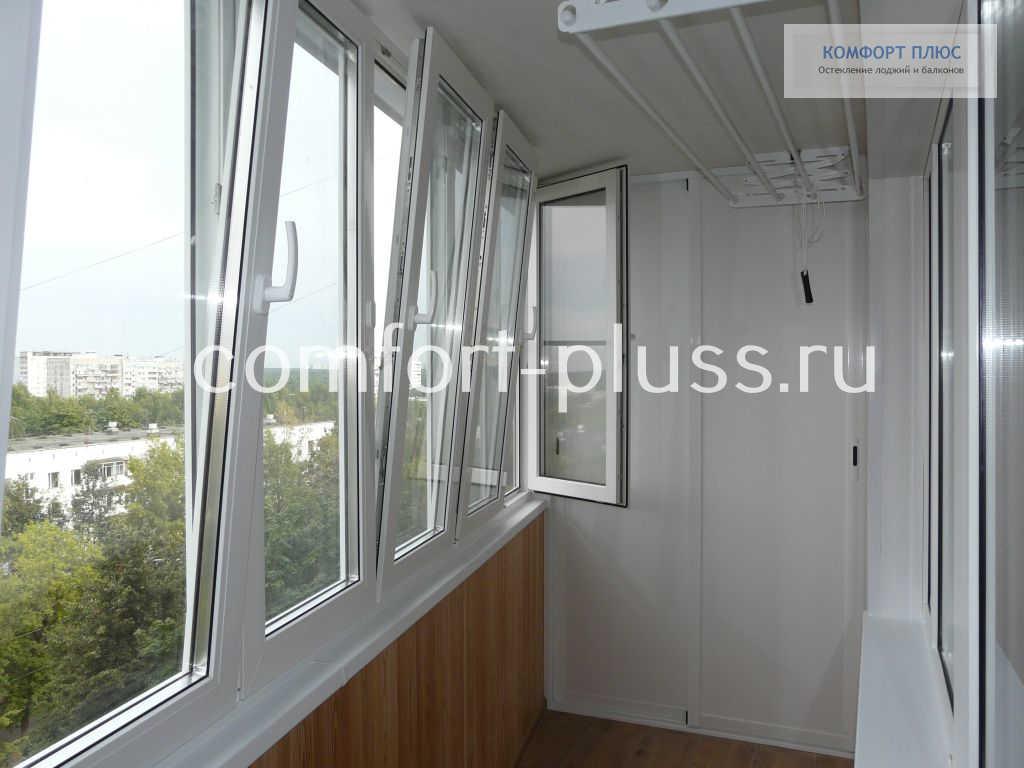 Окна REHAU THERMO-Design на лоджии