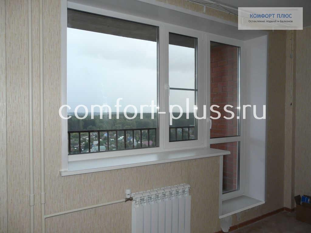Окно и балконная дверь REHAU DELIGHT-Design