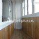 теплая лоджия 6 метров со шкафами